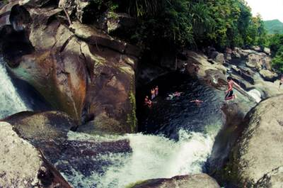 Waterfall, Nagari Sungai Pinang, West Sumatra